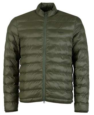 Barbour Penton Baffle Quilted Down Jacket Colour: OLIVE, Size: SMALL