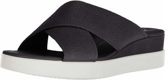 Ecco Women's Touch Plateau Platform Slide Sandal