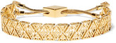 Noir Totem Gold-Tone Bracelet