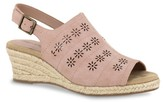 Easy Street Shoes Joann Espadrille Wedge Sandal