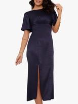 Chi Chi London Dalisay Dress, Navy