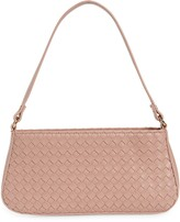 Thumbnail for your product : Mali & Lili Woven Vegan Leather Baguette Shoulder Bag
