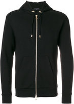 Balmain tiger-print hooded sweatshirt - men - Cotton - S