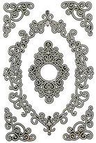 Martha Stewart Crafts Martha Stewart Elegant Filigree Frames In Frame Stickers