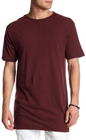 Topman Short Sleeve Long Line Fit Tee