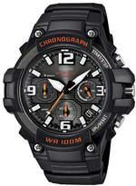 Casio Mens Black Resin Strap Chronograph Watch MCW100-1AV