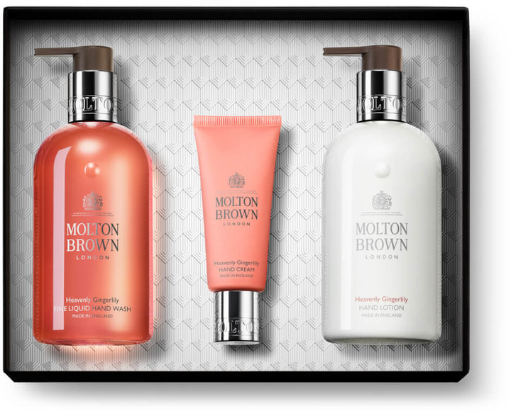Molton Brown Heavenly Gingerlily Hand Gift Set (Worth 52.00)