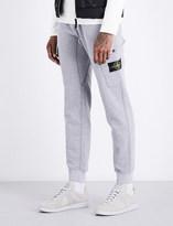 Stone Island Brand-patch cargo cotton-jersey jogging bottoms