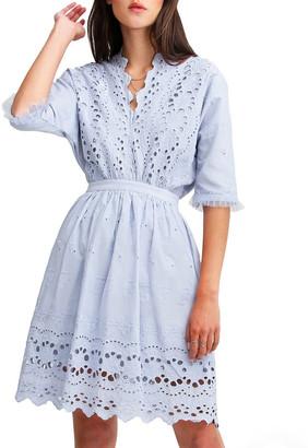 Belle & Bloom Whisper Mini Dress Lt