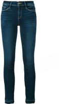 Frame let-down hem jeans