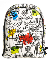 Alice + Olivia Staceface Graffiti Print Backpack