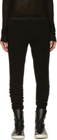 Niløs Black Sarouel Lounge Pants