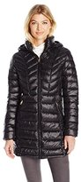 Jessica Simpson Women's Mid Length Packable Puffer