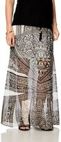 A Pea in the Pod No Belly Maternity Skirt