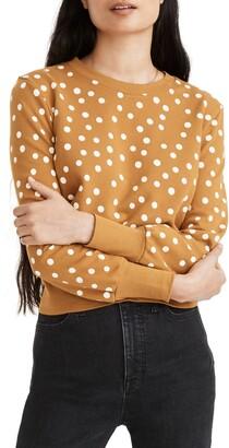 Madewell Inkwell Dots Sweatshirt