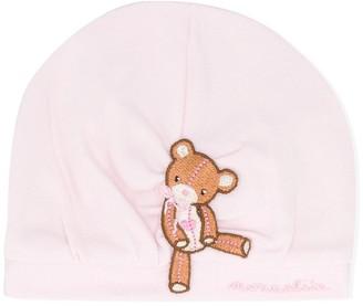 MonnaLisa Bear Logo Embroidered Hat