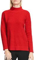 Vince Camuto Turtleneck Popcorn Stitch Sweater