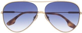 Victoria Beckham VB133S aviator sunglasses