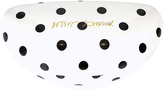 Betsey Johnson Black & White Polka Dot Hard Case