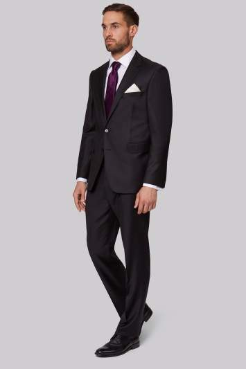 Ermenegildo Zegna Cloth Regular Fit Black Jacket