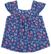 Planet Gold Girls 7-16 Ditzy Floral Peasant Top