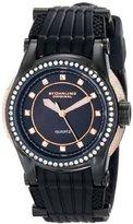 Stuhrling Original Women's 915.02 Vogue Illusion Analog Display Quartz Black Watch