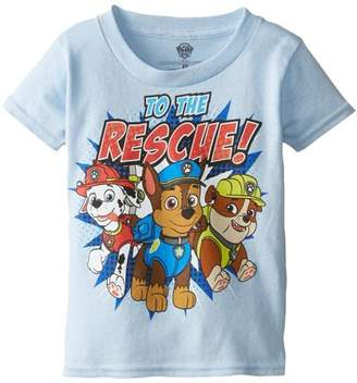 Nickelodeon Paw Patrol to the Rescue Toddler Boy Short Sleeve T-Shirt