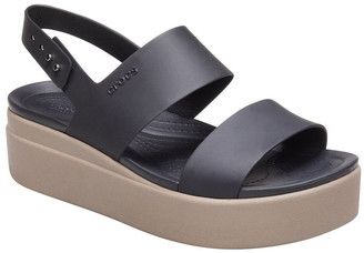 Crocs Brooklyn Low 206453 Black/Mushroom Sandal