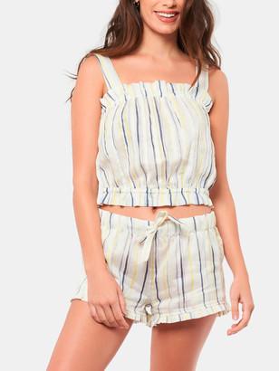 The Lazy Poet Cristi Ink Stripes Pajama Set