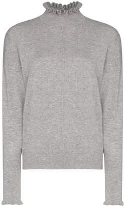 Chloé cashmere ruffle detail jumper