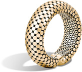 John Hardy Dot 22MM Cuff in 18K Gold