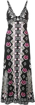 Temperley London Flux printed flared dress