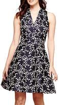 Yumi Floral Jacquard Party Dress, Petrol Blue