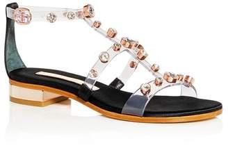 Sophia Webster Women's Dina Embellished T-Strap Sandals