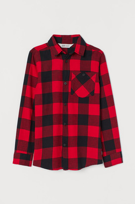 H&M Flannel Shirt - Red