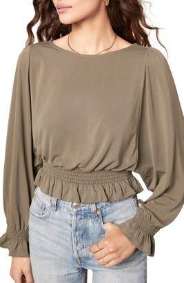 BB Dakota Sleeve To Believe Smocked Top