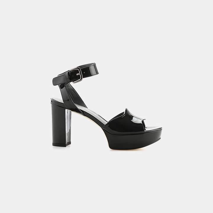 Stuart Weitzman Realdeal Patent Leather Sandal