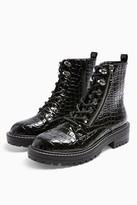 Topshop KIKI Lace Up Boots