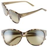 Maui Jim Women's Summer Time 54Mm Polarizedplus2 Cat Eye Sunglasses - Olive Tokyo Tortoise