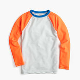 J.Crew Boys' baseball rash guard