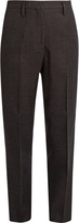 Golden Goose Deluxe Brand Checked wool cropped trousers