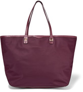 Rebecca Minkoff Everywhere leather-trimmed twill tote