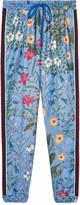 Gucci New Flora print jogging pant