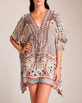 Camilla Byzantine Realms Short Lace-Up Kaftan