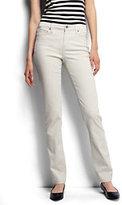 Classic Women's Tall Mid Rise Straight Jeans - Garment Dye-Flax