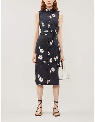 Ted Baker Bonina daisy-print stretch-cotton dress
