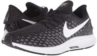 Nike FlyEase Air Zoom Pegasus 35 (Black/White/Gunsmoke/Oil Grey) Women's Running Shoes