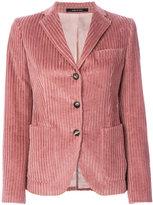 Tagliatore velvet blazer - women - Cotton/Cupro - 40
