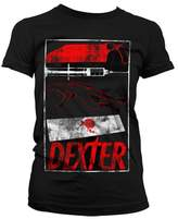 Dexter Officially Licensed Merchandise Signs Girly T-Shirt