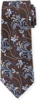 Ermenegildo Zegna Large-Floral Silk Tie